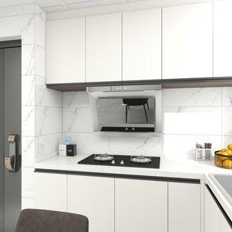 5-10万40平米小户型现代简约风格厨房设计图