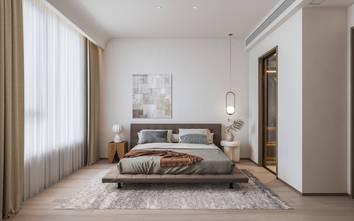三室两厅日式风格卧室装修图片大全