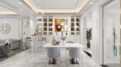 140平米四室一厅美式风格餐厅设计图