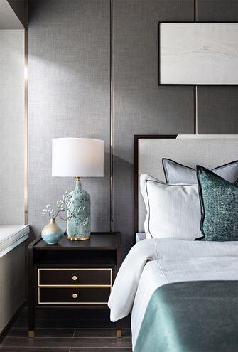 豪华型80平米三室一厅中式风格卧室效果图