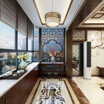 豪华型140平米三室两厅中式风格玄关效果图