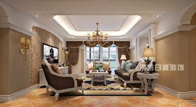 豪华型140平米四室两厅美式风格客厅效果图