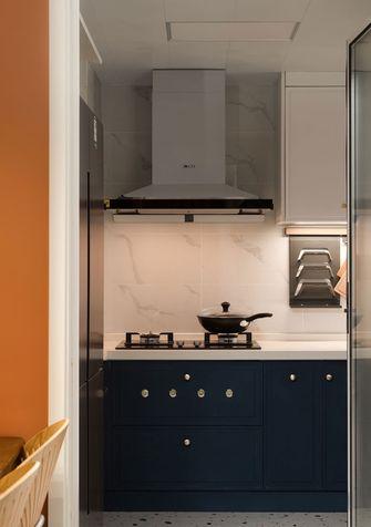 5-10万80平米三室一厅混搭风格厨房设计图