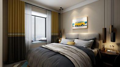 5-10万80平米三室一厅现代简约风格卧室图片大全