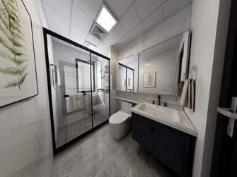 豪华型130平米三室一厅现代简约风格卫生间图片大全