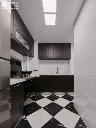 20万以上90平米法式风格厨房图片大全