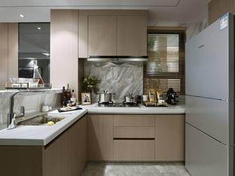 富裕型110平米三室两厅欧式风格厨房图