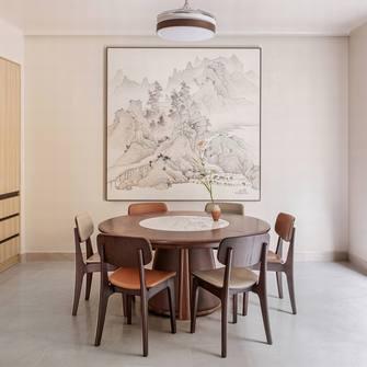 豪华型140平米三室两厅中式风格餐厅装修图片大全