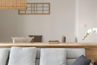110平米日式风格客厅装修图片大全