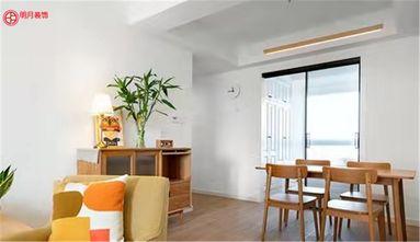 经济型80平米三室两厅日式风格餐厅设计图