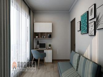 经济型110平米三室两厅现代简约风格书房装修案例