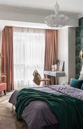 10-15万120平米三室两厅法式风格卧室装修效果图