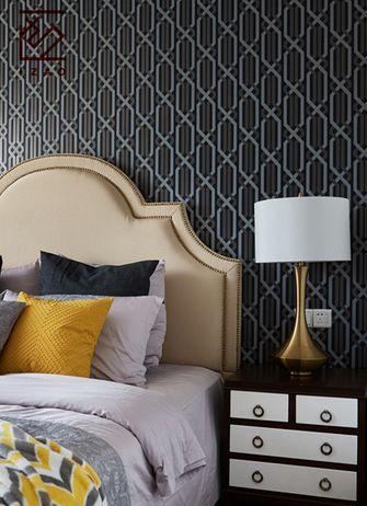 富裕型120平米三室两厅美式风格梳妆台设计图