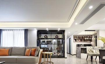 豪华型130平米三室两厅轻奢风格客厅图片