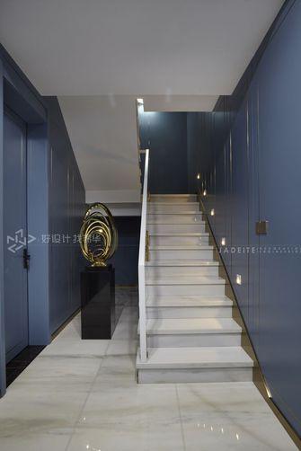 140平米别墅轻奢风格楼梯间装修图片大全