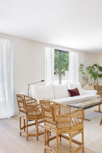 140平米田园风格客厅图片