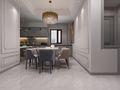 140平米四室三厅法式风格餐厅图片大全