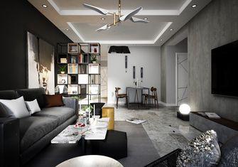 富裕型120平米三室两厅英伦风格客厅图