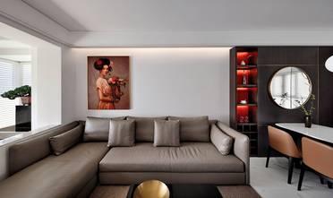 经济型100平米三室一厅现代简约风格客厅装修案例