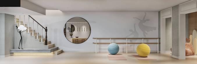 豪华型140平米四室三厅美式风格其他区域装修案例