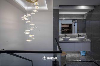 20万以上140平米复式现代简约风格楼梯间图片大全