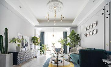 5-10万90平米三法式风格客厅装修图片大全