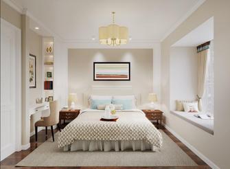 20万以上70平米美式风格卧室效果图