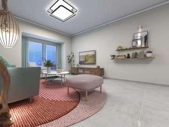 富裕型110平米三室两厅欧式风格客厅欣赏图