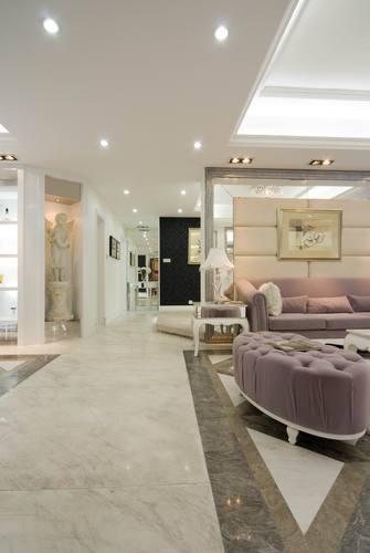 豪华型140平米别墅新古典风格餐厅设计图