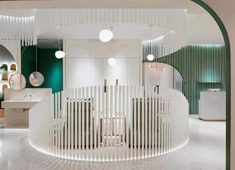 140平米一居室现代简约风格客厅装修图片大全
