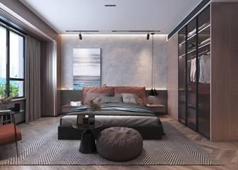 豪华型140平米三室两厅港式风格卧室图