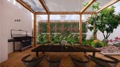 豪华型140平米别墅中式风格阳光房装修效果图