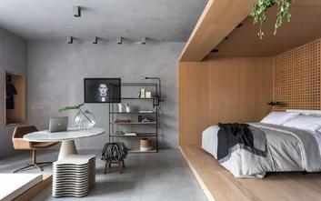 5-10万70平米公寓北欧风格卧室图片大全