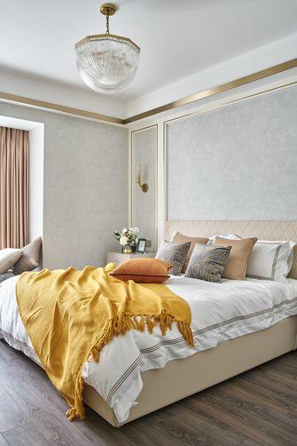 经济型120平米三室两厅法式风格卧室装修效果图