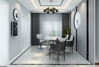 5-10万70平米一室一厅田园风格餐厅图