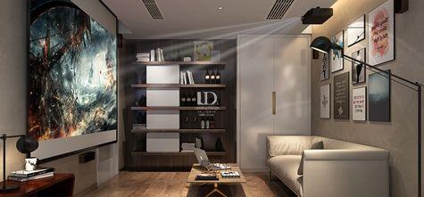 140平米四室两厅港式风格书房图片大全