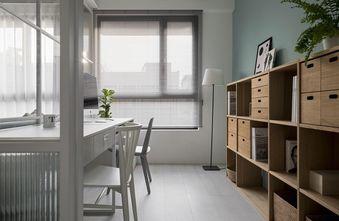70平米三室两厅北欧风格书房图