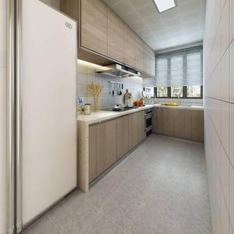 90平米三室两厅日式风格厨房效果图