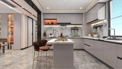 豪华型140平米别墅混搭风格厨房装修图片大全