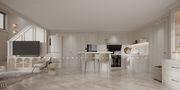 20万以上80平米公寓法式风格厨房效果图