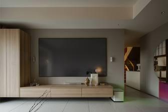 120平米三室三厅日式风格客厅装修案例