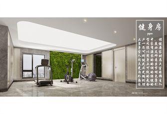20万以上140平米复式现代简约风格健身房设计图
