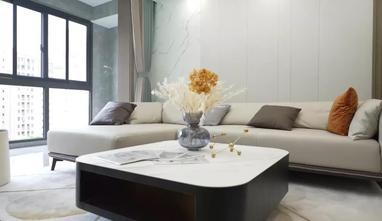 15-20万120平米三室三厅现代简约风格客厅设计图