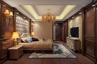 豪华型140平米三室两厅欧式风格卧室装修案例