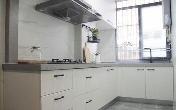 80平米三室一厅北欧风格厨房装修图片大全