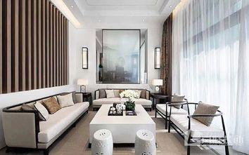 豪华型140平米中式风格客厅装修图片大全