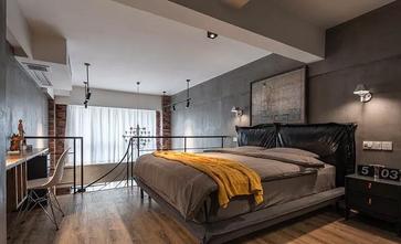 50平米小户型工业风风格卧室装修效果图