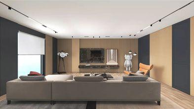 140平米一室两厅现代简约风格客厅图片大全