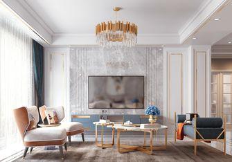10-15万140平米三室三厅混搭风格客厅装修案例