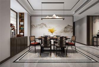 富裕型140平米别墅中式风格餐厅欣赏图